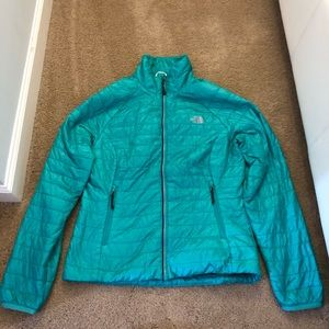 North Face Women's Lightweight Jacket in teal sz S